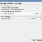 Configuring KDE's Kopete for Google Talk