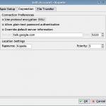 Configuring KDE's Kopete for Google Talk