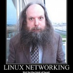"Alan Cox ""Linux Networking"" Poster :-)"