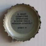 Linux Beer Bottle Top